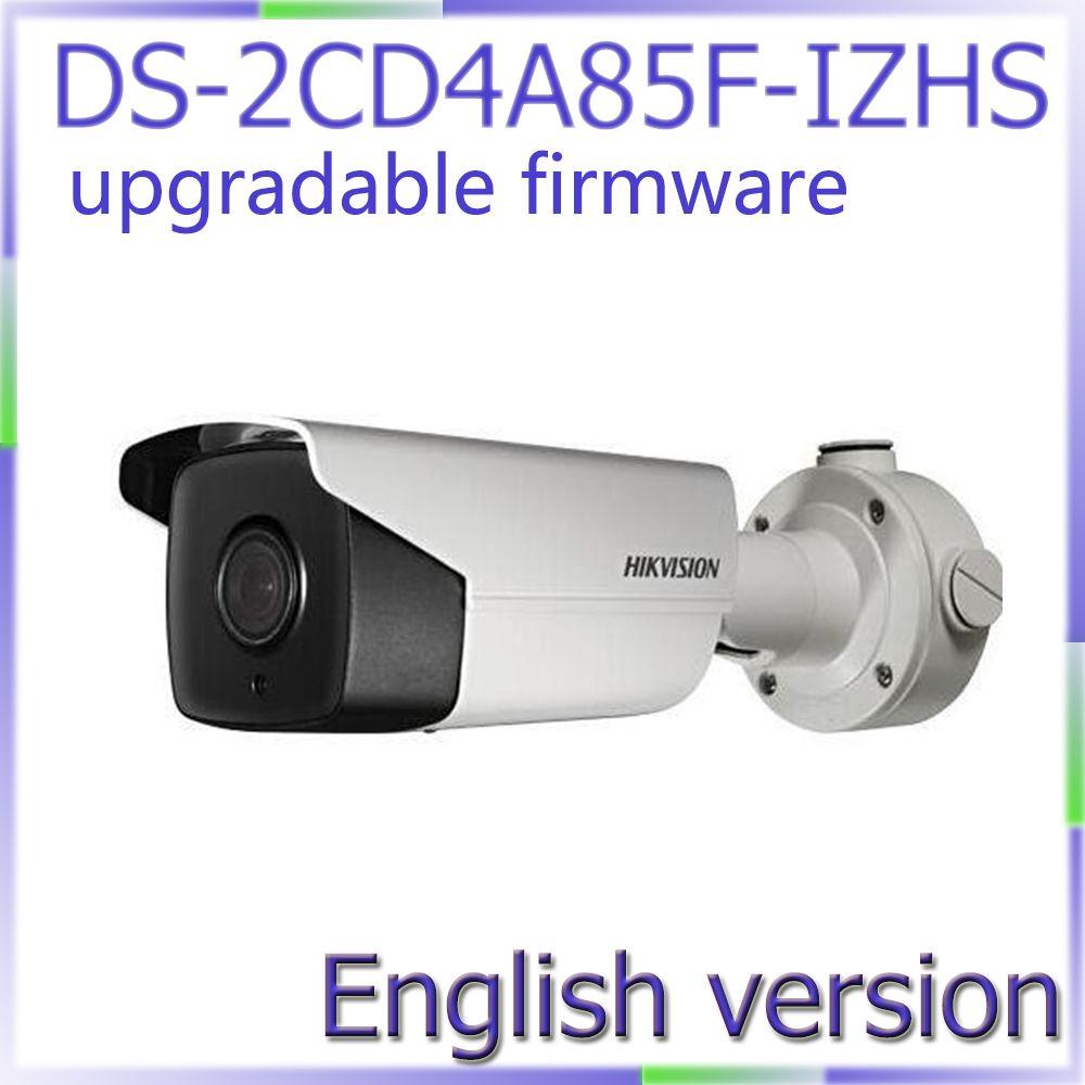 Free Shipping English Version Ds 2cd4a85f Izhs 4k Smart Bullet Cctv Camera Poe Motorized Lens With Heater Smart Camera Surveillance Cameras Video Surveillance
