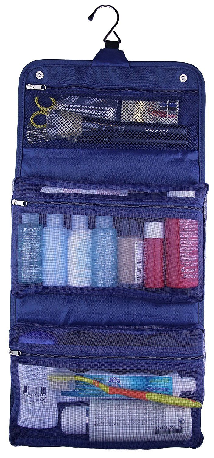 Toiletry Bag for Men and Travel Cosmetic Bag for Women by