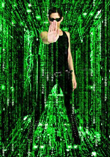 Matrix christlicher hintergrund
