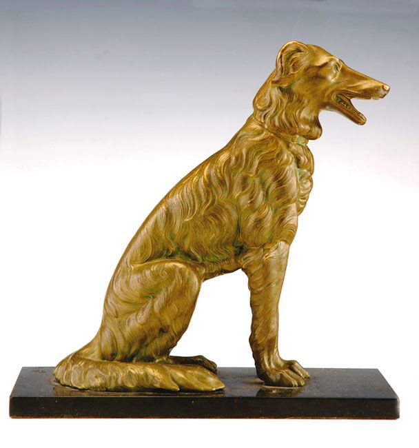 Bronze dog Bronze - Tiroche Auction House