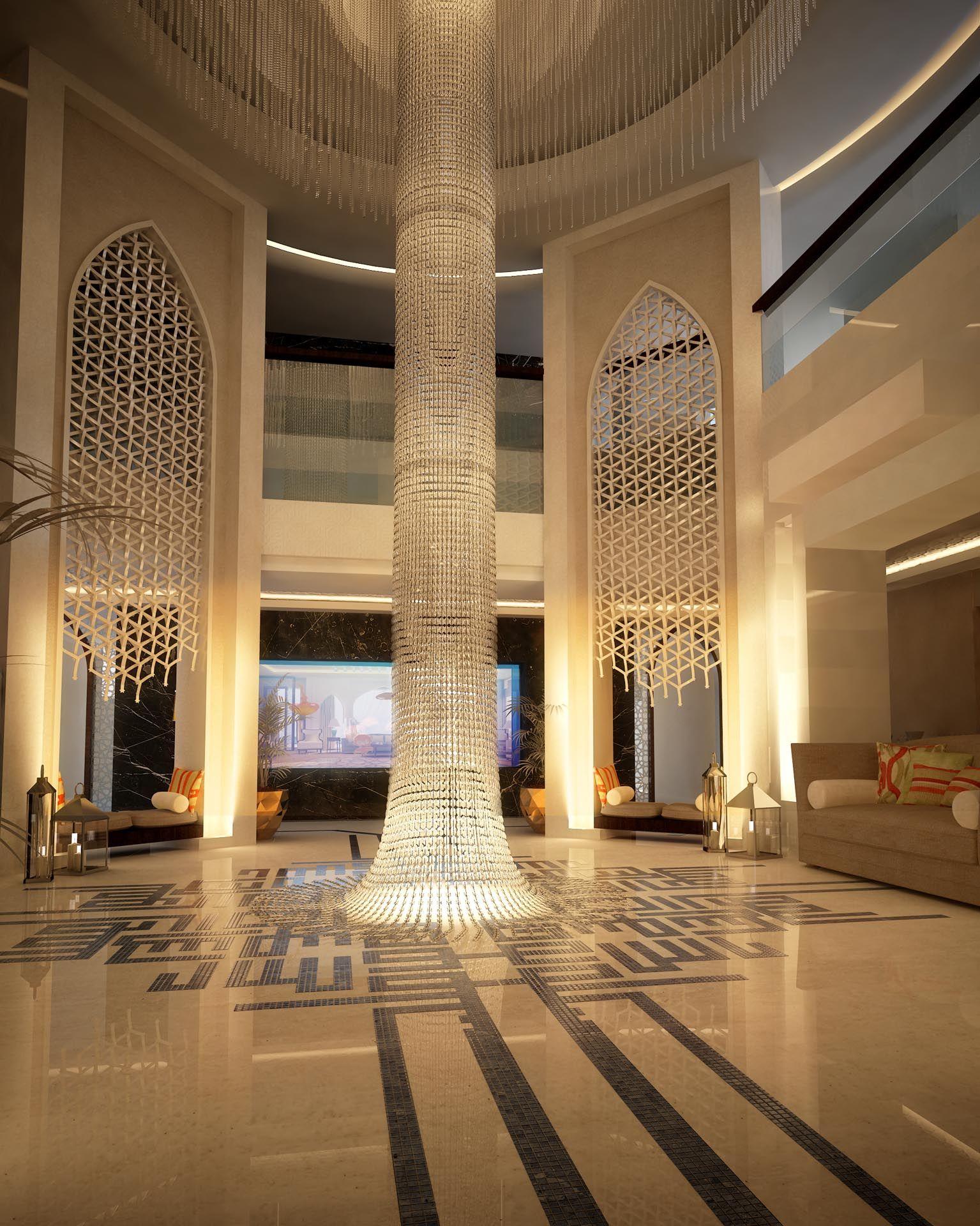 Modern Islamic Interior Design On Behance: House Design, Interior