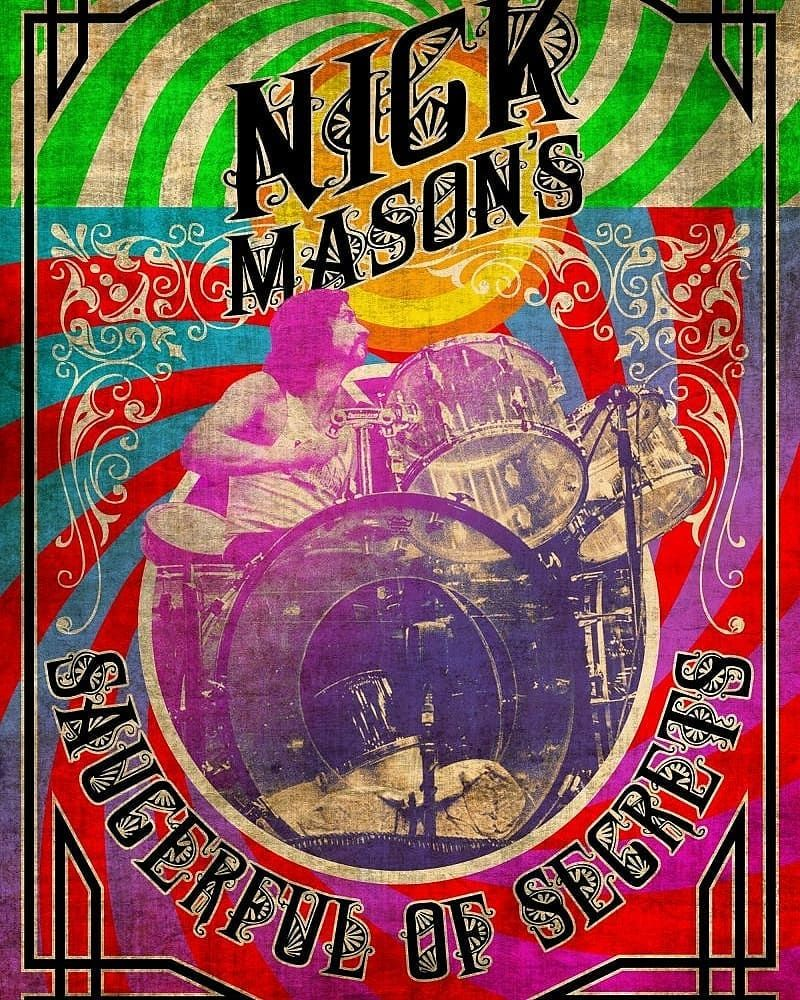 Pink Floyd On Instagram Nick Mason S Saucerfulofsecretsofficial Are Adding Another 8 Shows To The Saucerfulofsecrets 2019 Pink Floyd Pink Floyd Live Floyd