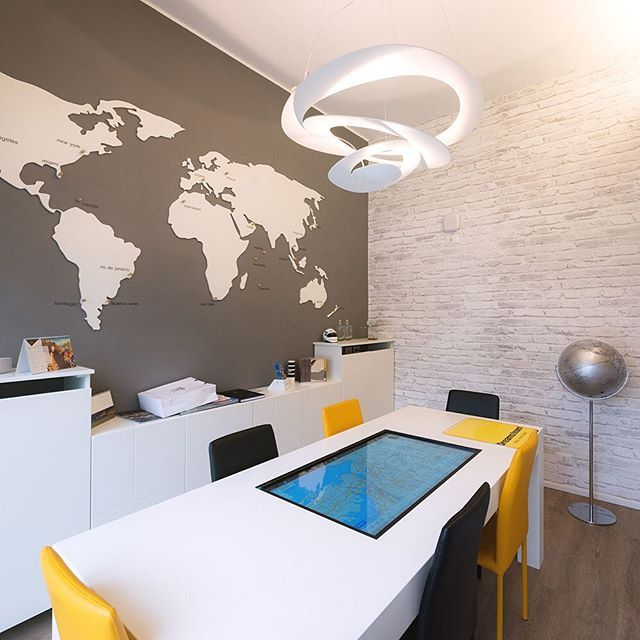 Travel agency office lighting city lighting products for Interior design travel agency office