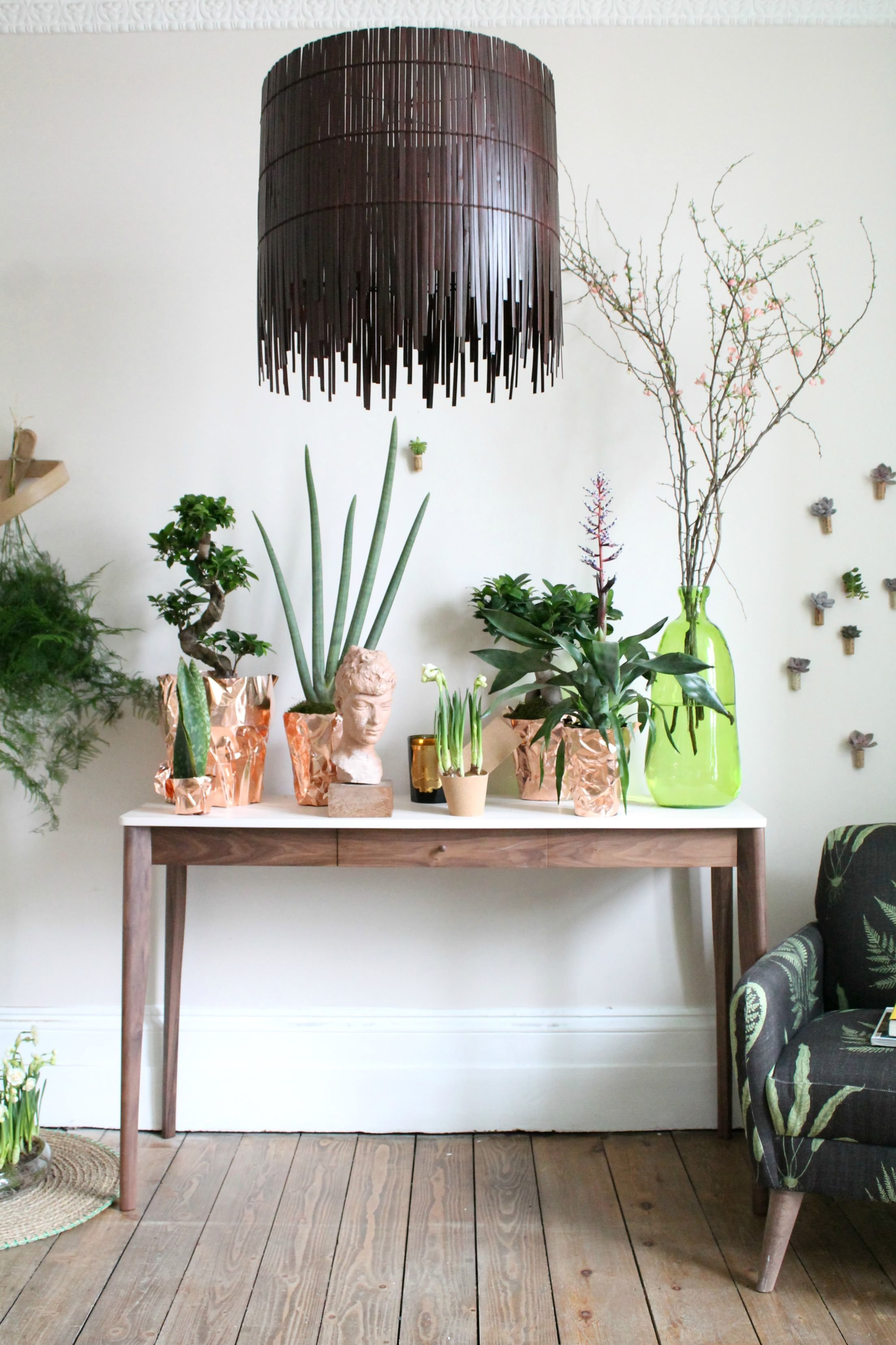 eco luxe and unexpected wild 2 trends for decorating with indoor plants - House Plants Decoration Ideas