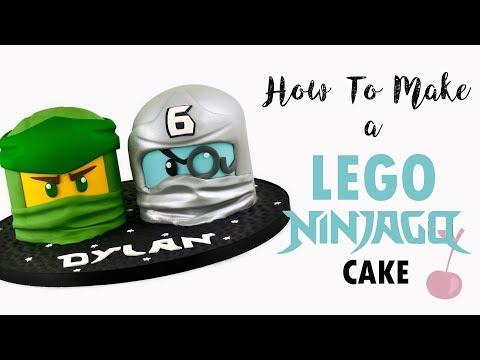 Lego Ninjago Head Cakes Tutorial How To Cherry School Youtube Cake Tutorial Ninjago Cakes Lego Cake