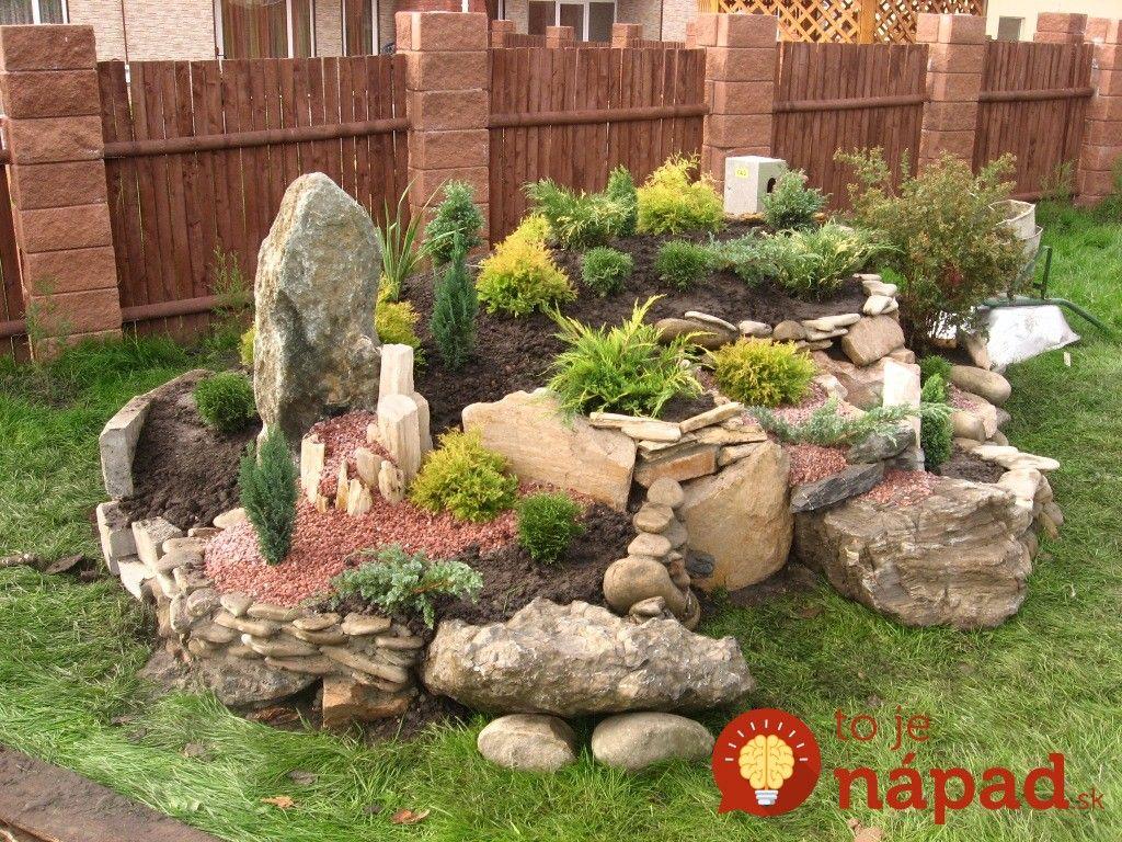 Vybrali sme pre vás 35 najkrajších nápadov na záhradné skalky, z ...