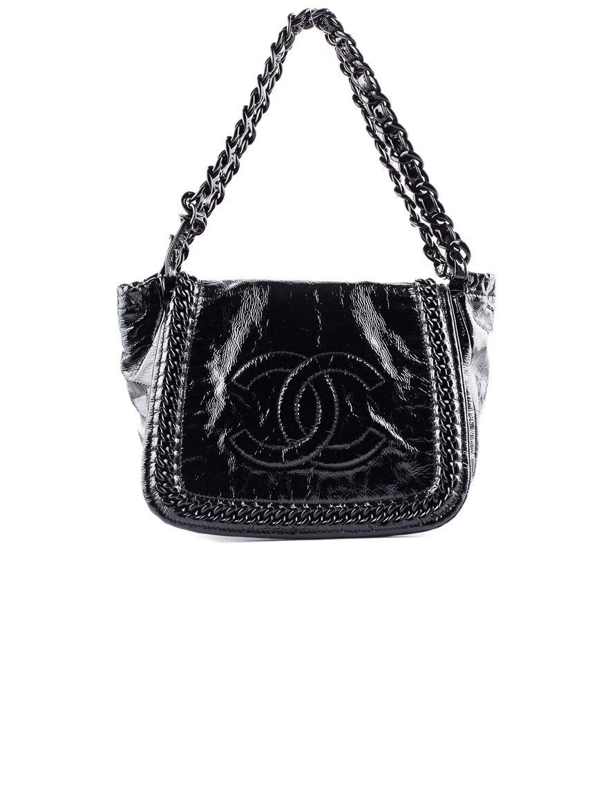 Chanel Patent Shoulder Bag Bags Vintage Chanel Shoulder Bag