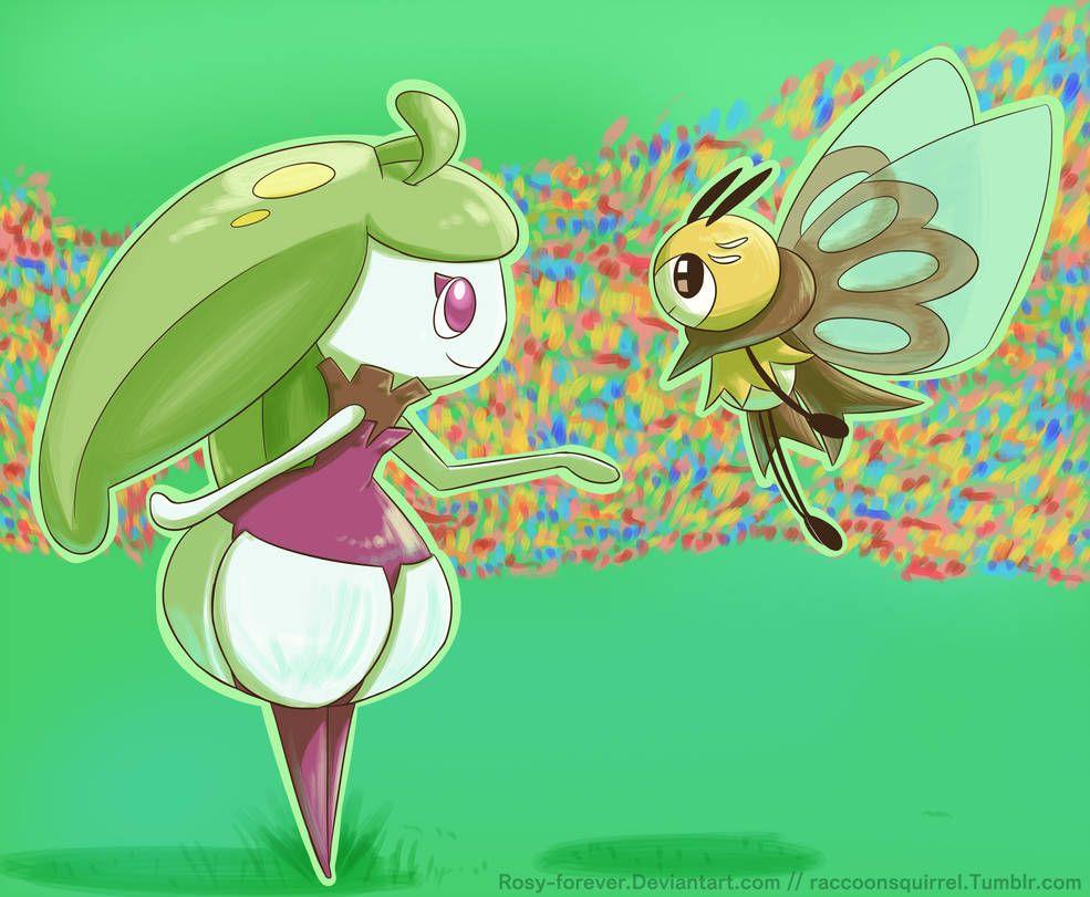 Steenee And Ribombee By Https Www Deviantart Com Rosy Forever On Deviantart Pokemon Fan Art Pokemon First Pokemon