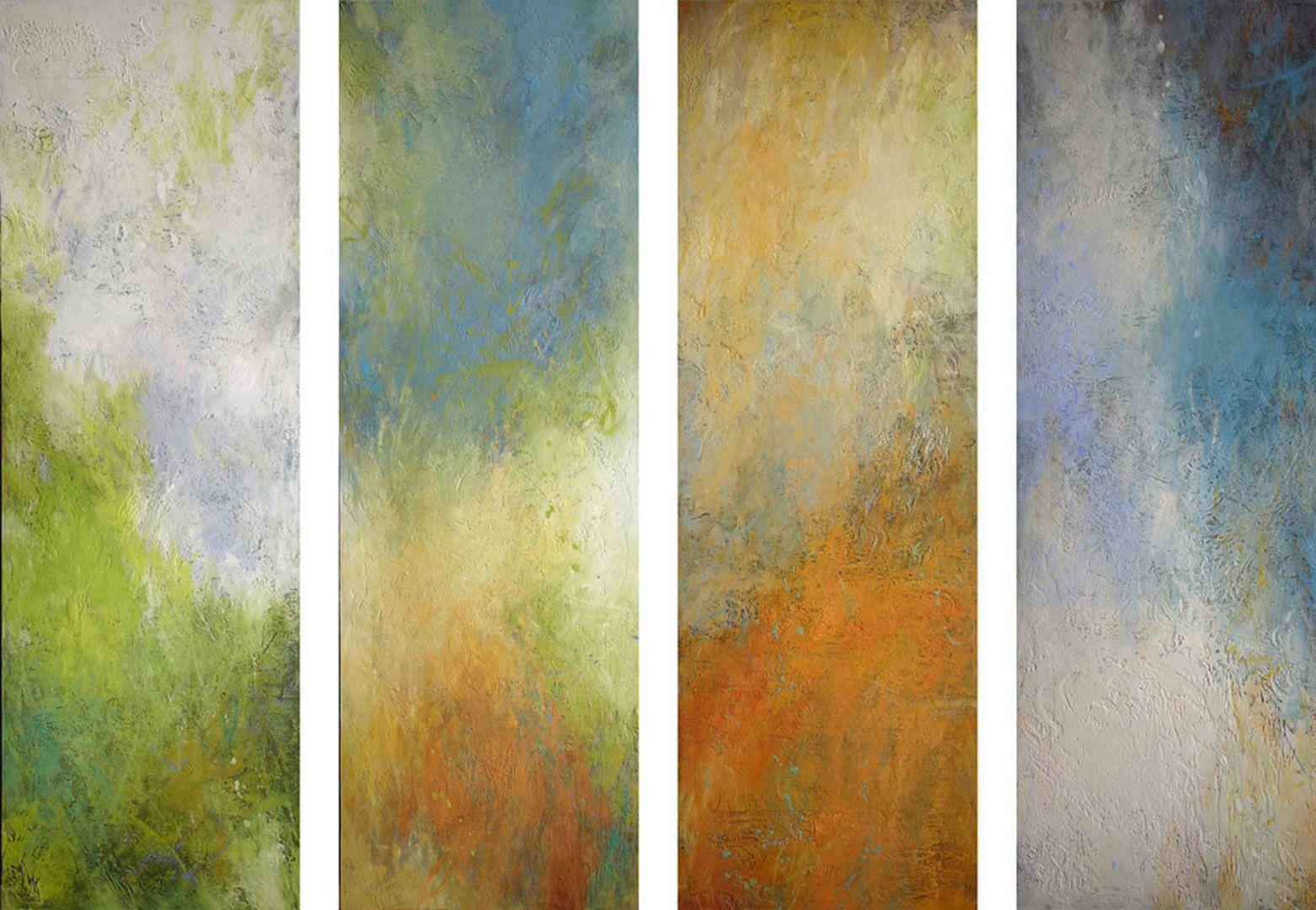 Spring Summer Autumn Winter (4 panels)