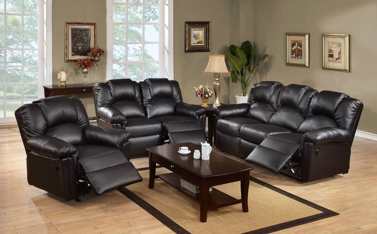 Marvelous New Modern Casana 3 2 Seater Bonded Leather Recliner Sofa Gmtry Best Dining Table And Chair Ideas Images Gmtryco