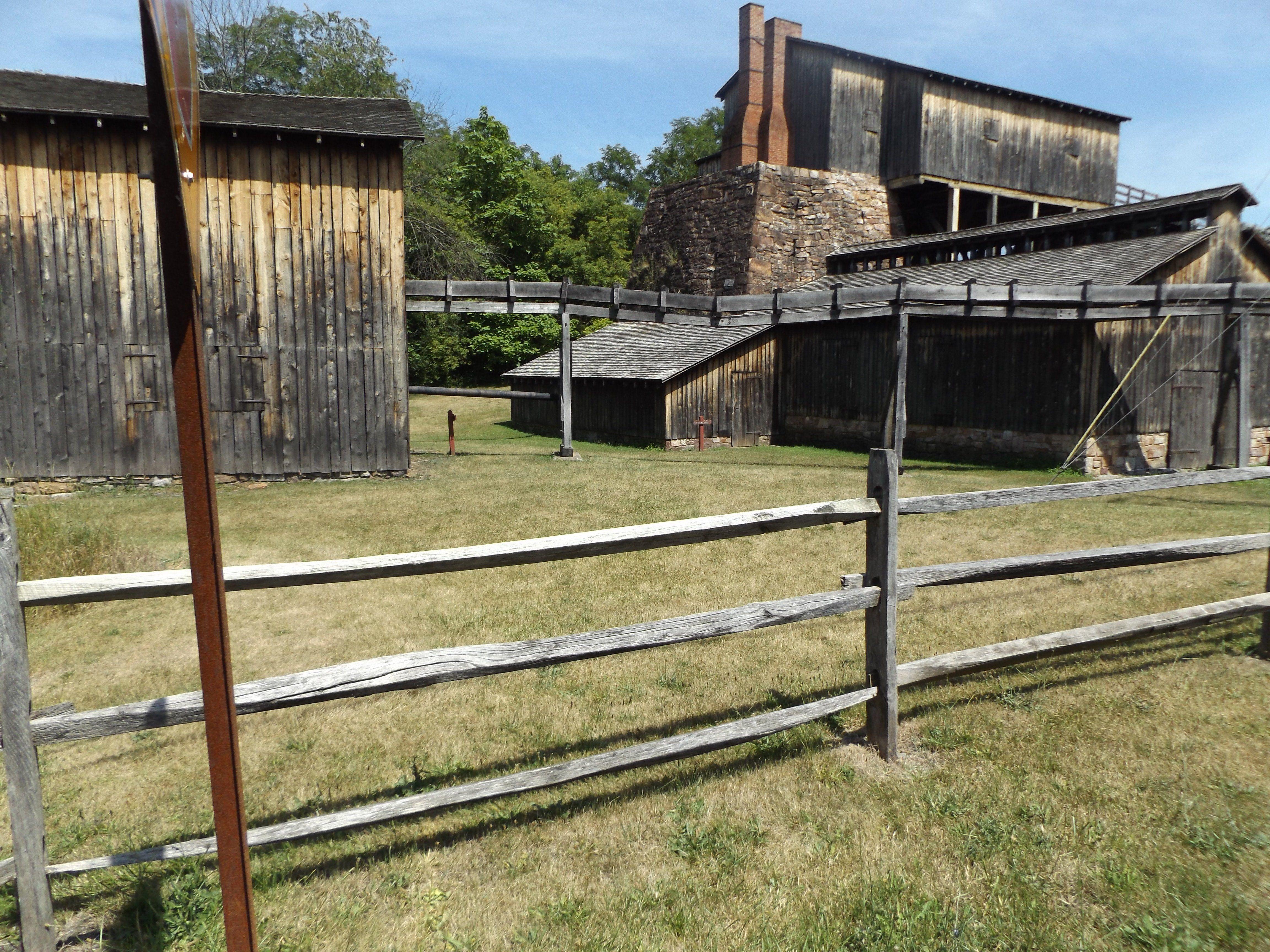 Eagle Furnace (Curtin Furnace), Curtin, Pennsylvania