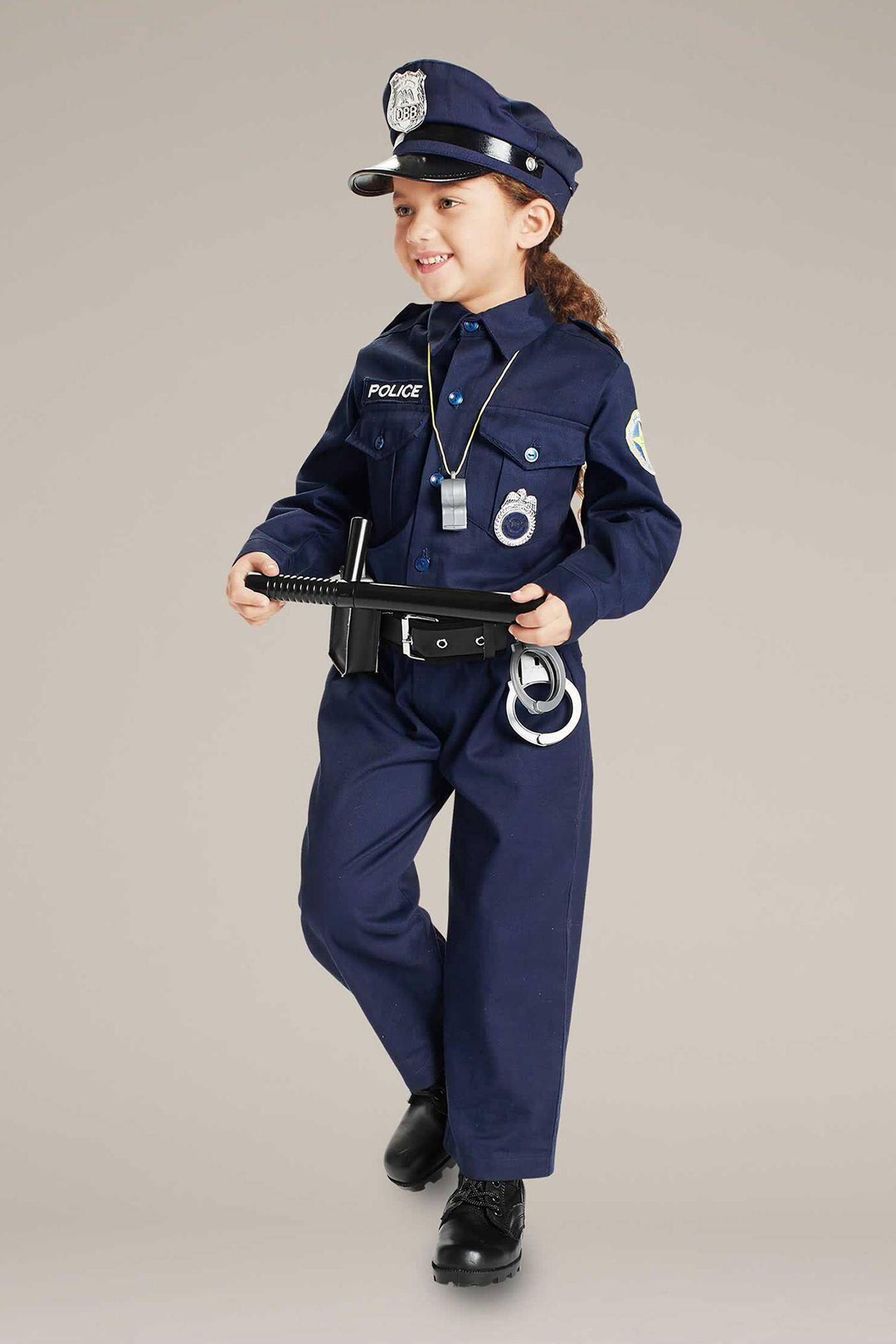 Police Officer Costume For Kids In 2021 Police Costume Kids Cop Costume For Kids Police Officer Costume