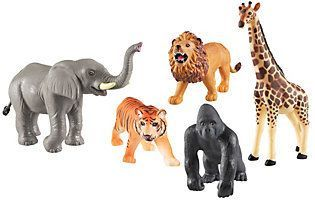Jumbo Jungle Animals By Learning Resources Qvc Com Jungle