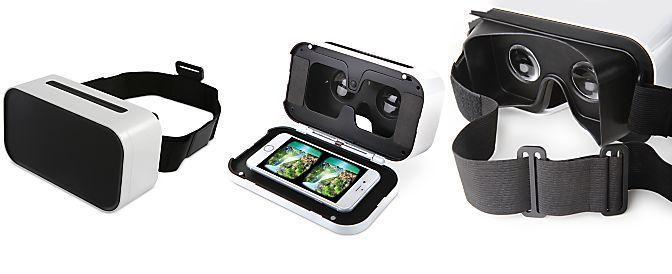 Sharper Image Virtual Reality Smartphone Viewer Headset Virtual