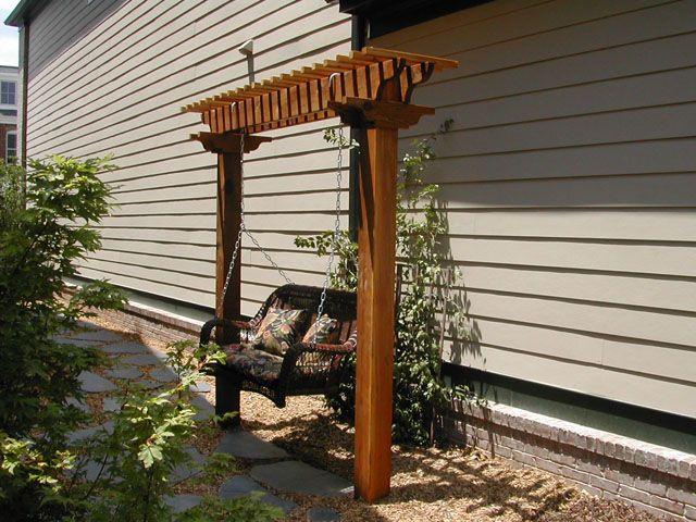 Delightful Swing Trellis Designs | Pictures, Designs, Photos Of Arbors, Trellises,  Patios,