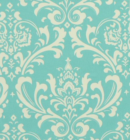 roman shades. Ozbourne Girly Blue/White Twill