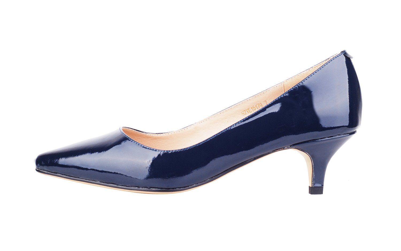 Verocara Womens Low Heel Pointed Toe