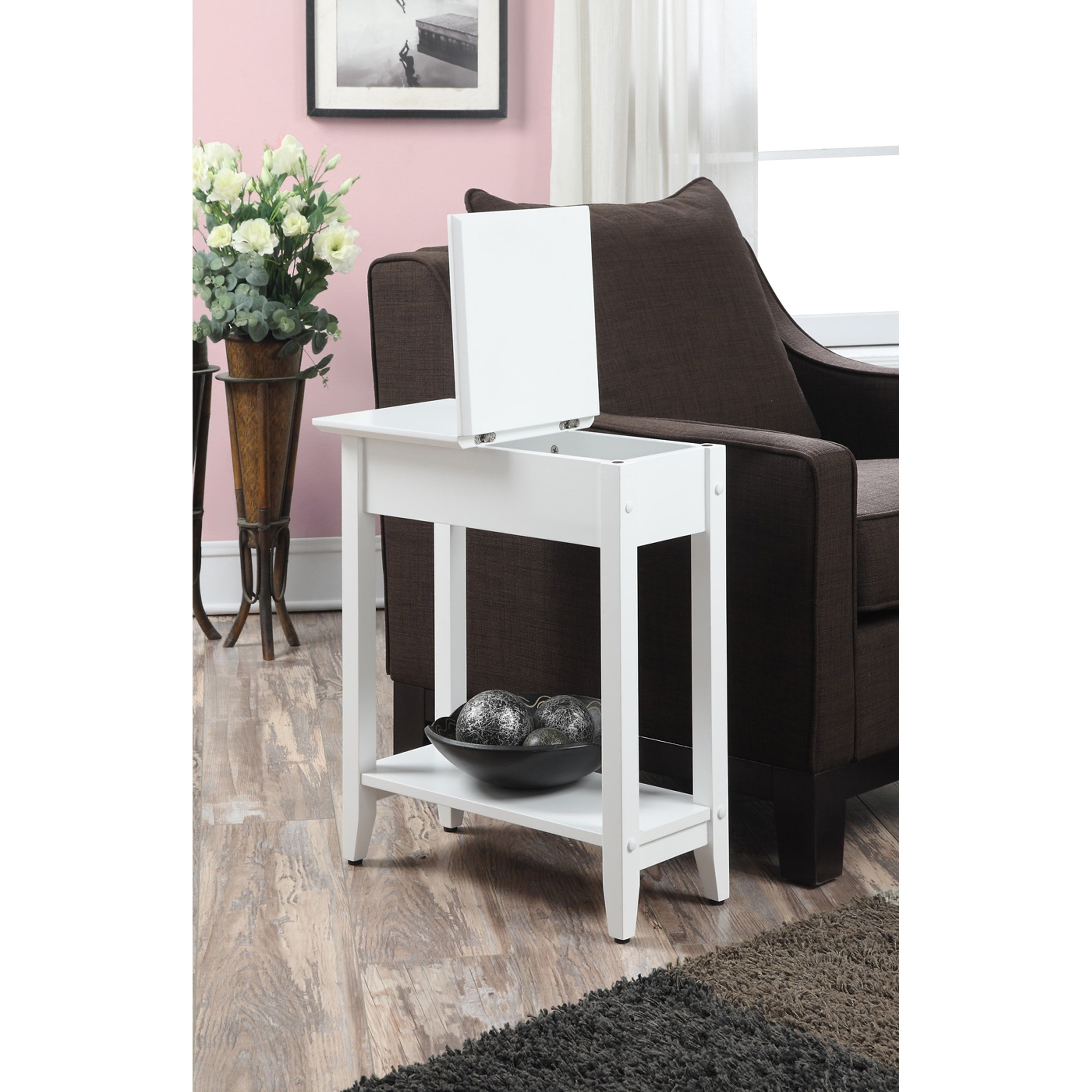 Overstock Com Online Shopping Bedding Furniture Electronics Jewelry Clothing More End Tables End Tables With Storage White End Tables