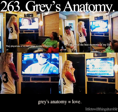 Little Taylor Swift things! ♥ Grey's Anatomy.