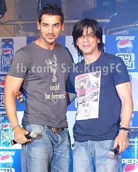 John Abraham And Shahrukh Long Hair Styles Men Celebrities Cool Hairstyles