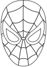 Resultado de imagem para spiderman eyes template n ver - Masque spiderman a imprimer ...
