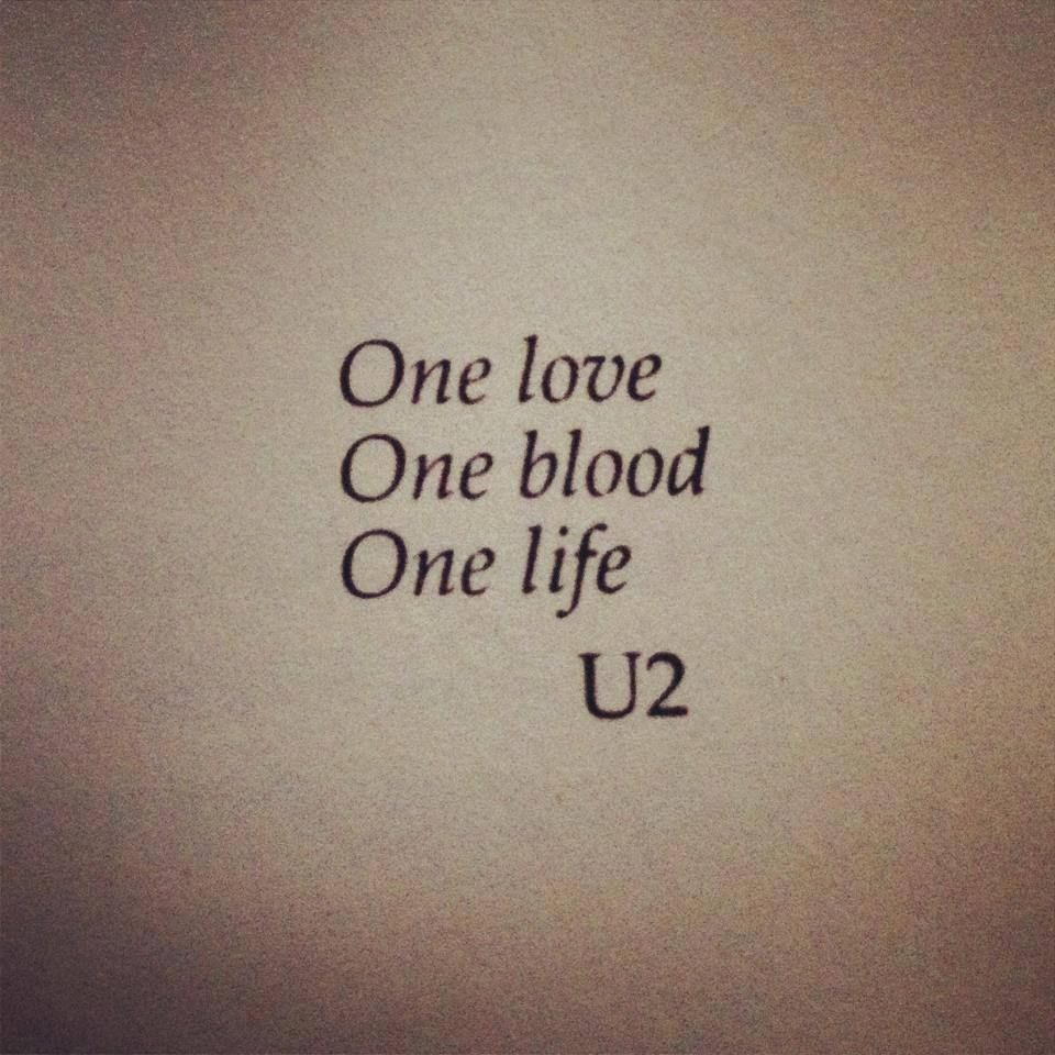 U2 ONE: when my subconscious mind which controls my past and