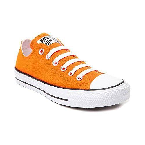 Converse Chuck Taylor All Star Lo Sneaker (Mens 11/Womens 13, Neon Orange )