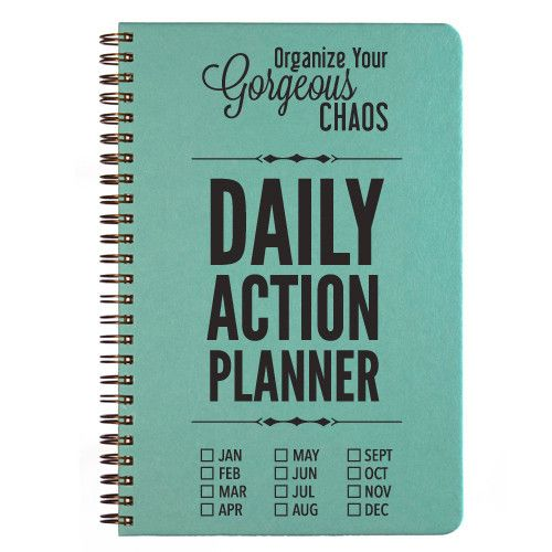 there is a whole productivity plan with these planners daily action