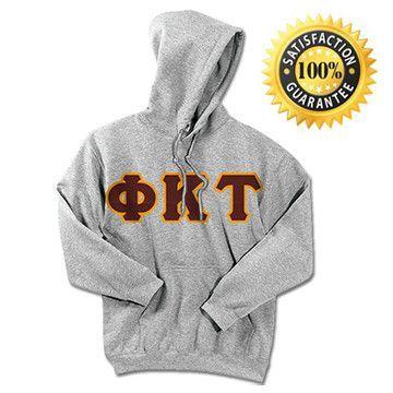 1-Phi Kappa Tau Standards Hooded Sweatshirt - $25.99