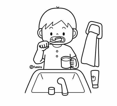 Pin De Rodolfo Orozco En Rutinas Para Ninos Habitos De Higiene Personal Rutina Diaria De Ninos Habitos De Higiene