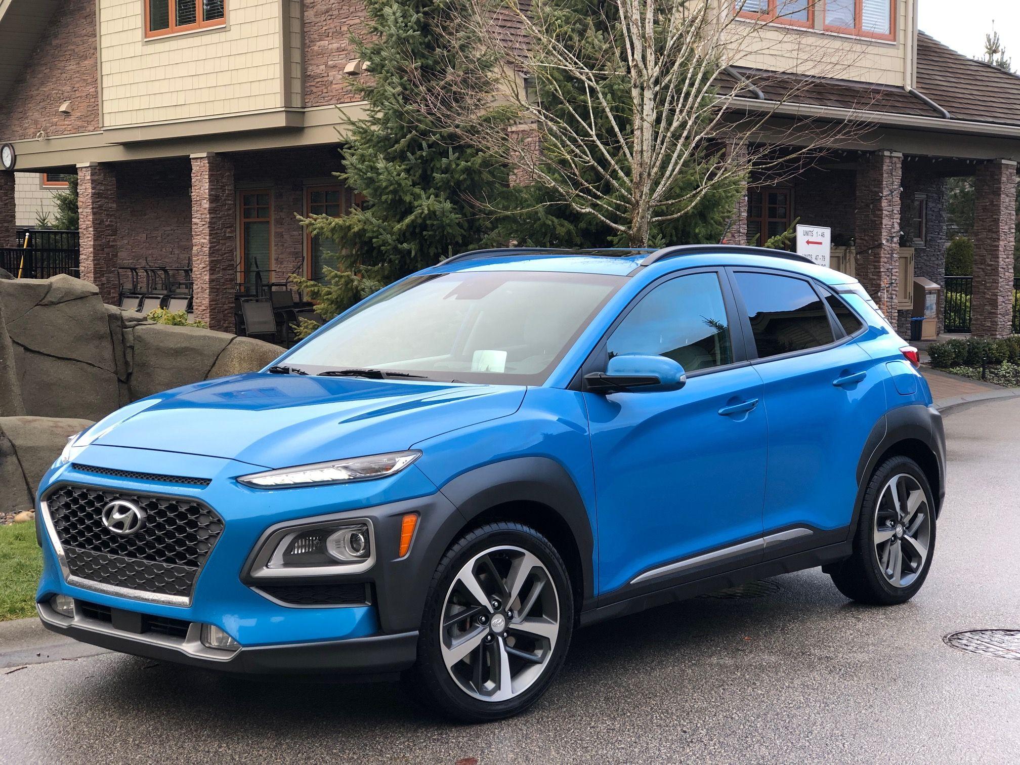2018 Hyundai Kona Sporty Suv Fuel Economy