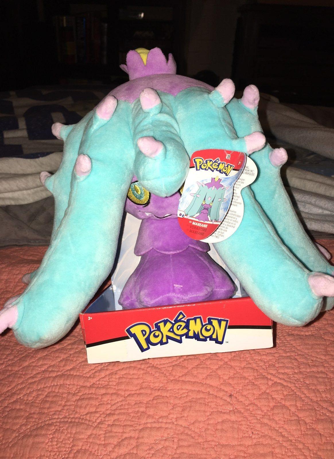 Pokémon Mareanie plush 10 inch brand new Pokemon stuffed