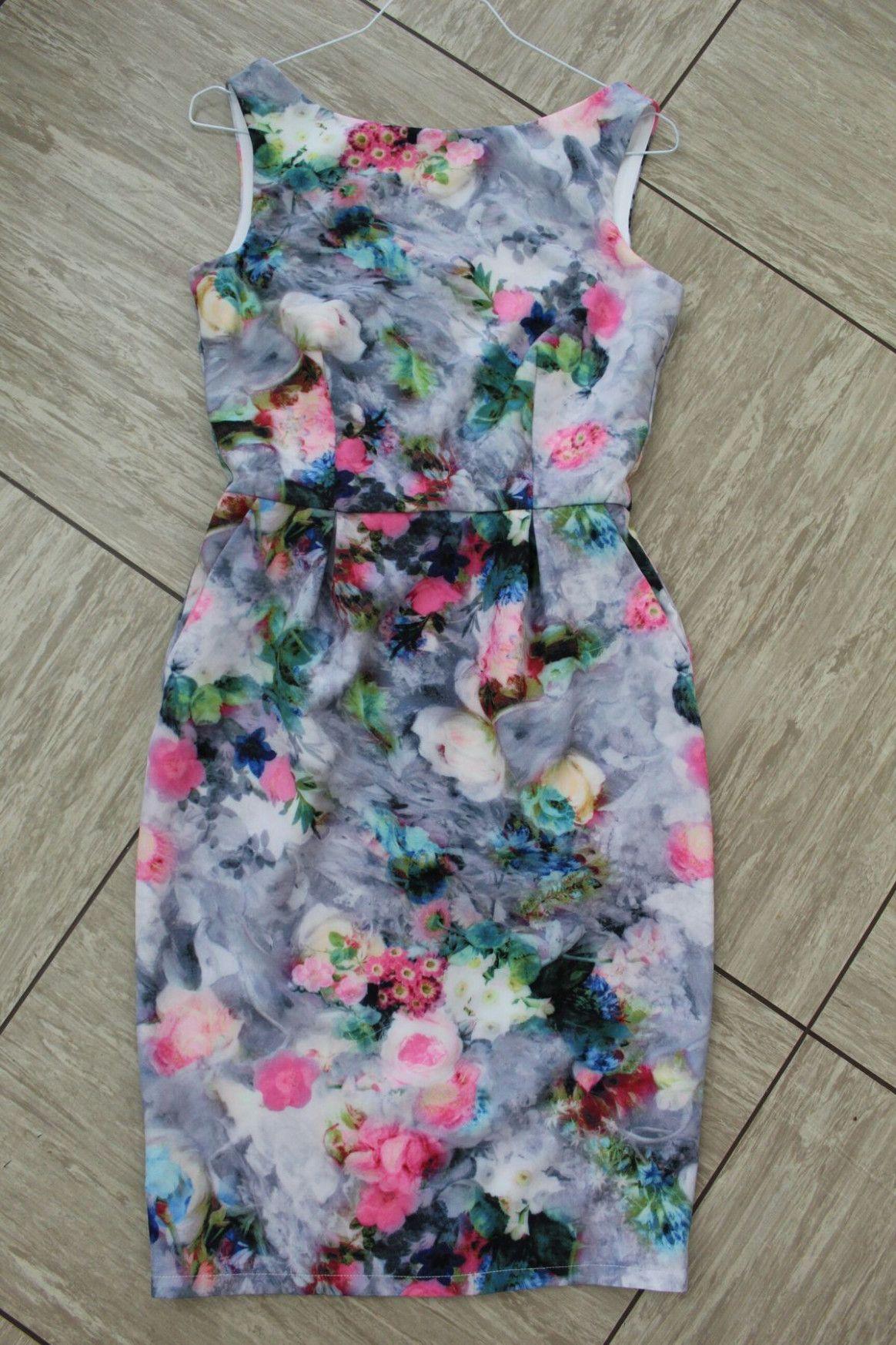 11 Kleid Bunt Festlich