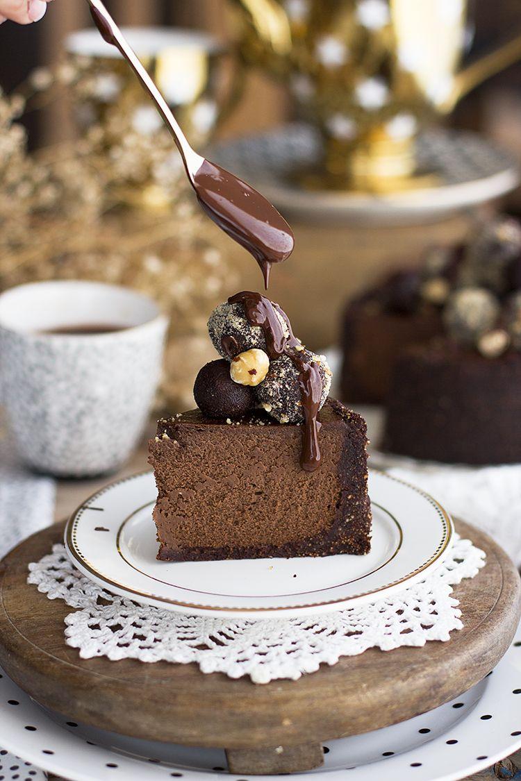Haz La Mejor Cheesecake De Ferrero Rocher Del Mundo E Impresiónalos A Todos Diciéndoles Q Receta De Pastel De Chocolate Tartas Caseras Pastel De Ferrero Rocher