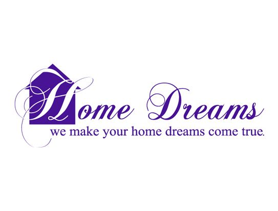 Home Dreams - Logo Design for Home Stager & Decorator ...