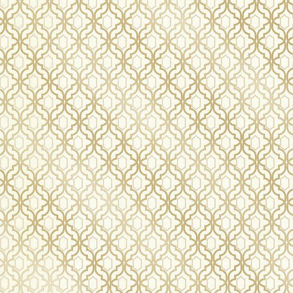 Alcazaba Gold Trellis Wallpaper From The Alhambra Collection By Brewst