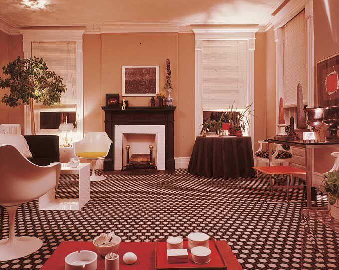 David Hicks.   Mid century living room, David hicks ...
