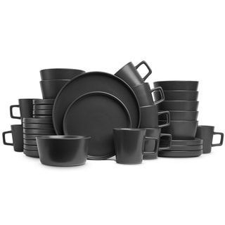 Stone Lain 32-Piece Stoneware Dinnerware Set, Service for 8, Matt Black | Overstock.com Shopping - The Best Deals on Casual Dinnerware #casualdinnerware Stone Lain 32-Piece Stoneware Dinnerware Set, Service for 8, Matt Black #casualdinnerware Stone Lain 32-Piece Stoneware Dinnerware Set, Service for 8, Matt Black | Overstock.com Shopping - The Best Deals on Casual Dinnerware #casualdinnerware Stone Lain 32-Piece Stoneware Dinnerware Set, Service for 8, Matt Black #casualdinnerware