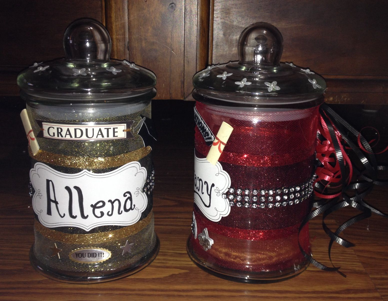 Graduation Memory Jars They Are So Cute Put Your Favorite Memory In The Jar For The Graduate To Read L Memory Jar Graduation Graduation Memories Memory Jars