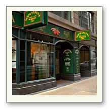 LUNCH --Sopraffina Italian Market Cafe. Multiple downtown locations in Chicago's Loop (W. Jackson, W. Adams, N. Dearborn, E. Wacker). Fantastic lunch spot with great salad bar.