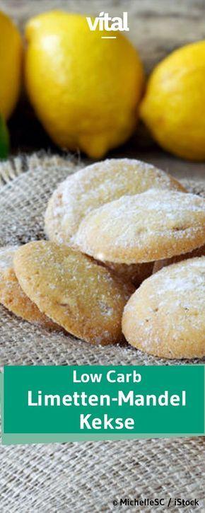 Low Carb: Glutenfreie Limetten-Mandel-Kekse