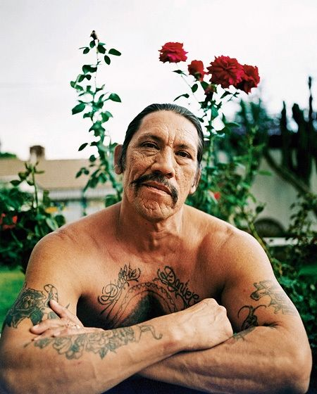 Danny Trejo little known fact: While serving years in San Quentin for robbery and drug possession, he held the statewide light weight and welter weight prison boxing titles! One tough mug!