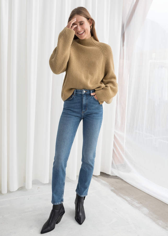 f9db0eff5f807e And other stories Straight Slim Jeans