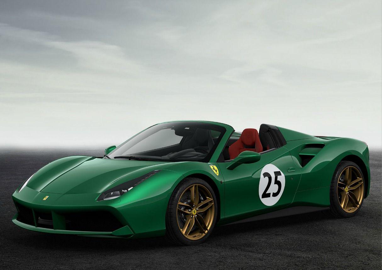 Ferrari 70th anniversary special edition liveries