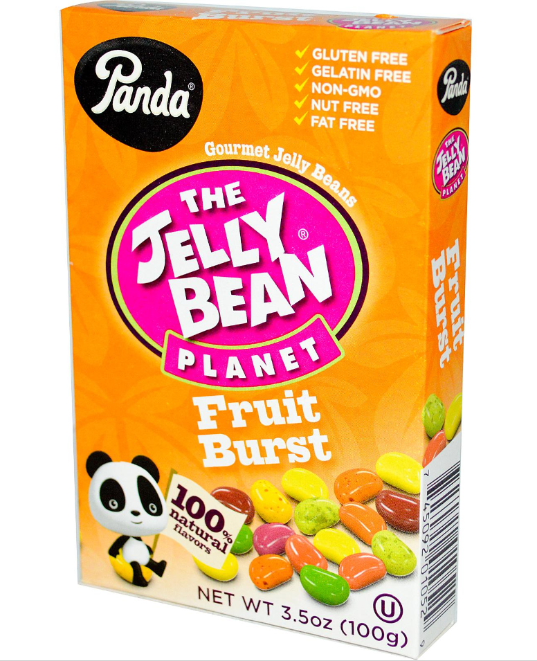 Panda Licorice, The Jelly Bean Planet, Gourmet Jelly Beans, Fruit Burst, 3.5 oz (100 g) – My iHerb review – Best candies?