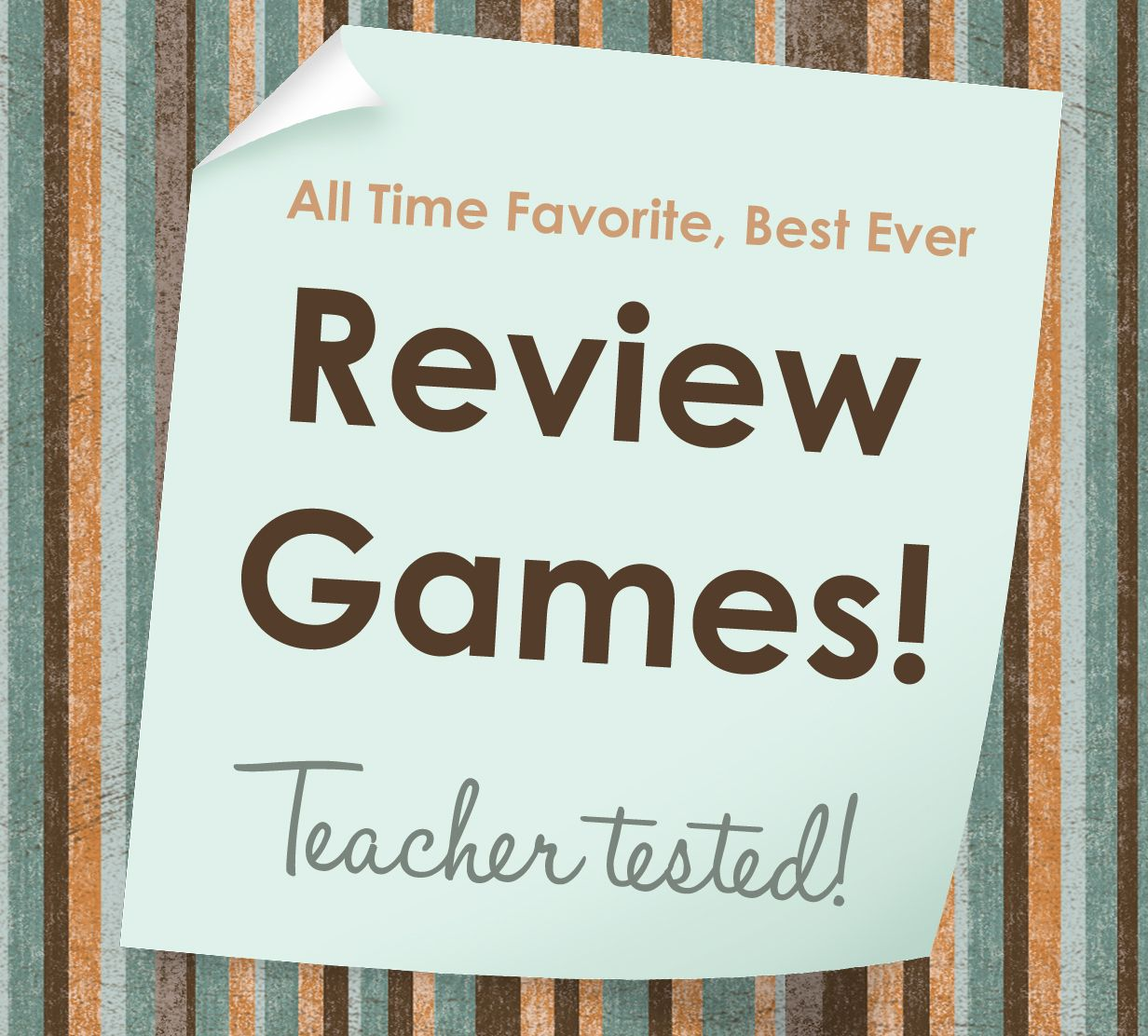 Review games 1 sticker Math review game, School testing