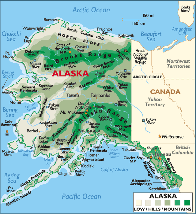 Where Is Alaska On The Map - Bing Images | Alaska in 2019 ...
