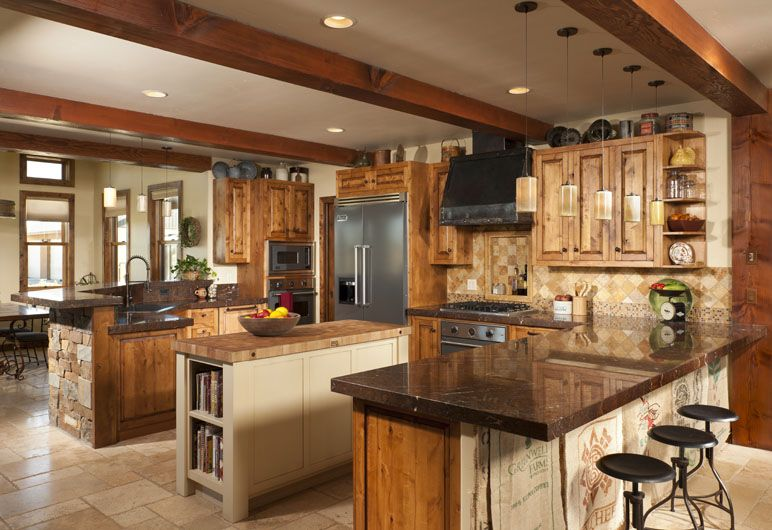 Timber Frame Homes Arizona Timber Frame Home Show Low Kitchen A Small