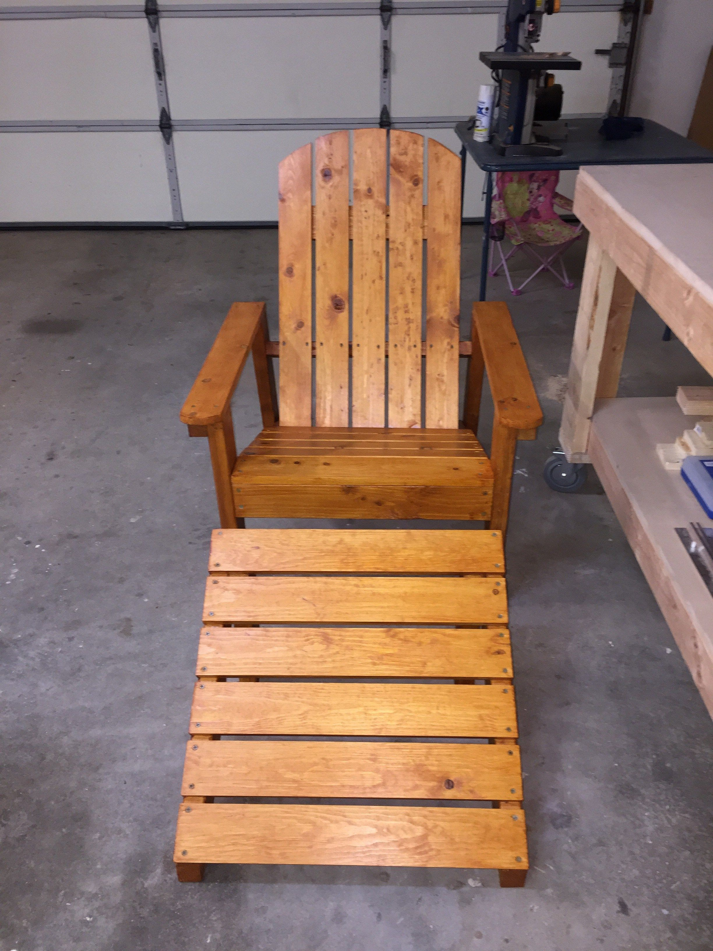 Ana White's Adirondack Chair Easy build for a beginner