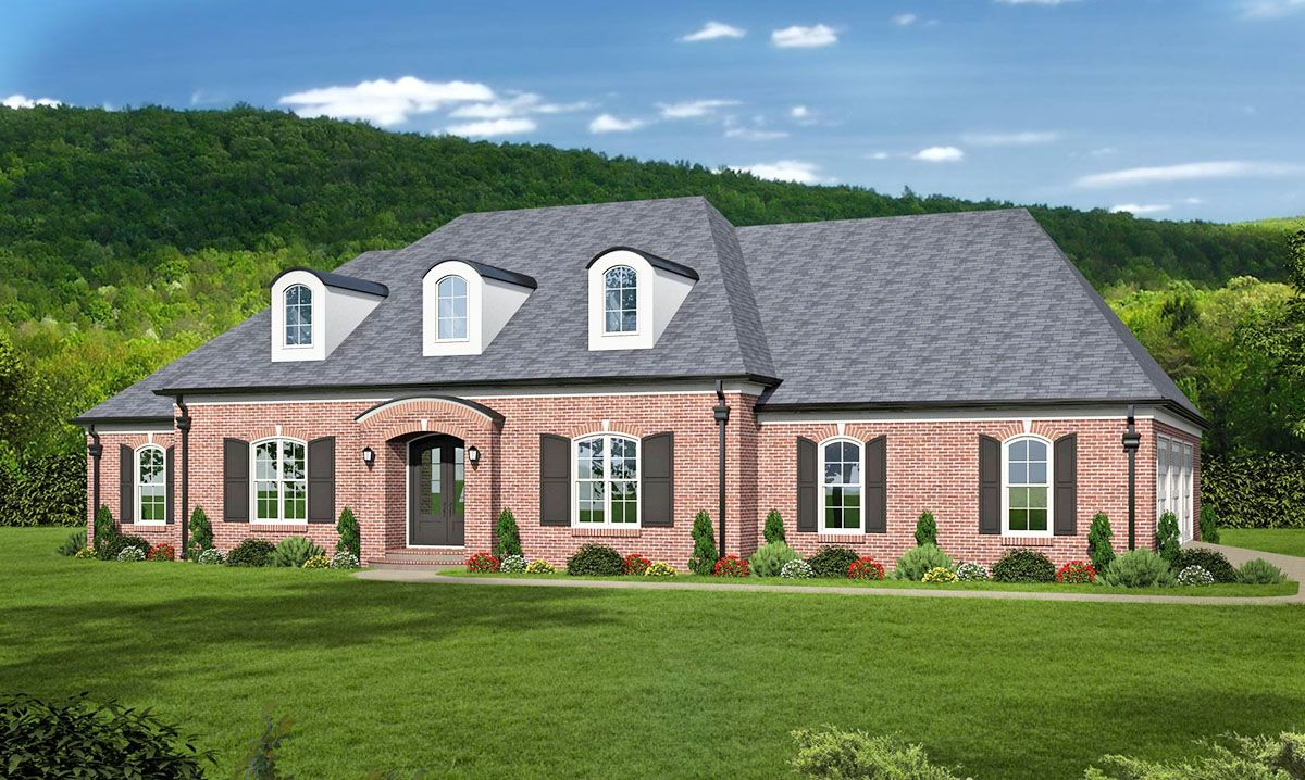 Elegant acadian style house plan with two master suites 68452vr 1st floor master suite acadian butler walk in pantry cad available